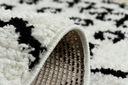 Dywan BOHO shaggy 120x170 biały frędzle #GR2818 Materiał wykonania polipropylen