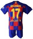 GRIEZMANN komplet sportowy strój piłkarski r. 140 Rozmiar niestandardowy