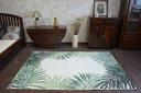 Dywan SIZAL 120x170 JUNGLE LIŚCIE zieleń #B643 Rodzaj płaskotkany