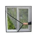 Москитная сетка Сетка на окно 130x150 КОМАРОВ + липучка