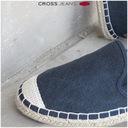Espadryle CROSS Jeans damskie granat DD2R4108 39 Rozmiar 39