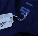 WRANGLER koszula slim BLUE DEPTHS grantowa XL Kolor granatowy