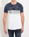 Koszulka Męska HOLLISTER Bawełna Logo T-SHIRT XL Rozmiar XL