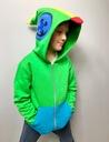 Bluza dziecięca LEON gra BRAWL STARS zielona 134 Płeć Chłopcy