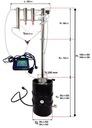 DESTYLATOR ELEKTRYCZNY AUTOMAT 50/30l SZEROKI WLEW Waga (z opakowaniem) 29 kg
