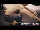 Para Stabilizatorów kolan Compex Trizone Knee M Kolor dominujący czarny