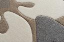 DYWAN FEEL 160x220 KWIATY beż/szary #MO110 Szerokość 160 cm