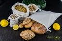 Worek na chleb pieczywo bawełniany 30x40 cm EKO