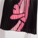 spódnica plisowana midi RÓŻOWA PANTERA kreskówki 7969907220