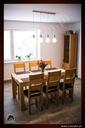 Dębowy stół rozkładany 160/85 dąb natura Kolor mebla Dąb naturalny