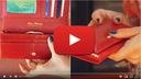 PETERSON PORTFEL DAMSKI SKÓRZANY STOP-RFID OCHRONA Kod producenta BC 467 RED