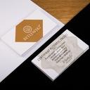 Skórzane etui wizytówki karty wizytownik BETLEWSKI Wzór dominujący bez wzoru