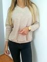 Sweterek V Vital Beżowy