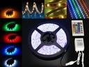ZESTAW TAŚMA RGB 300 LED SMD 5m + PILOT + ZASILACZ SMD Tak