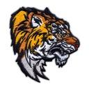 Naszywka Tygrys - Wild Tiger - duży, HAFT