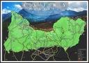 Mapa Zdrapka Tatr - idealna na prezent Waga produktu z opakowaniem jednostkowym 0.5 kg