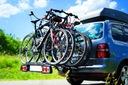 STORM 4 - Bagażnik uchwyt rowerowy na hak 4 rowery Cechy dodatkowe uchylany obsługa oświetlenia tylnego obsługa światła cofania