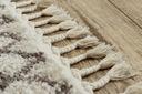 Dywan BOHO shaggy 80x150 frędzle krem #GR2822 Marka Dywany Łuszczów