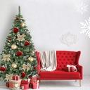 CHOINKA SZTUCZNA SOSNA DIAMENTOWA 220 cm + STOJAK Kod produktu Piękna choinka świąteczna WYSOKA JAKOŚĆ
