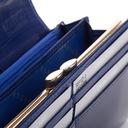 BETLEWSKI portfel damski skórzany lakierowany RFID Wzór dominujący bez wzoru
