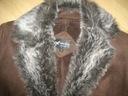 Kożuszek ekologiczny kurteczka 38 HAWK HORSE Kolor brązowy