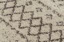 Dywan BOHO shaggy 140x190 krem frędzle #GR2850 Długość 190 cm