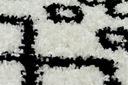 Dywan BOHO shaggy 120x170 biały frędzle #GR2818 Szerokość 120 cm