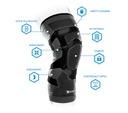 Stabilizator na kolano Compex Trizone Knee L Lewy Rodzaj orteza kolana