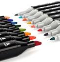 маркеры набор pro art 30шт+ЧЕХОЛ цвета на выбор доставка товаров из Польши и Allegro на русском