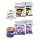 Ekspres Tassimo Vivy2 + 144 kawy i napoje + Stojak Kolor dominujący czerwony