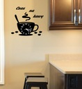 часы чашка Кухня большой + декоры тихий 3d