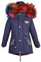 зимняя куртка BQ-825G8 искусственного МЕХА ФЛИС р. 122/128 доставка товаров из Польши и Allegro на русском