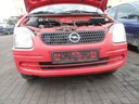 Opel Agila A zderzak przód przedni + grill Y547