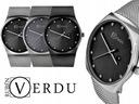 Elegancki zegarek damski RV bransoleta mesh grawer Typ naręczny