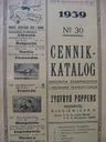 Прайс-лист-Каталог-марки Poppers , Подумай 1939 доставка товаров из Польши и Allegro на русском