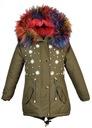 зимняя куртка BQ-828Z12 искусственного МЕХА ФЛИС р. 134/140 доставка товаров из Польши и Allegro на русском