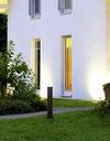 SŁUPEK OGRODOWY Lampa 44cm New York + LED 10W E27 Wysokość 44 cm