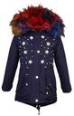 зимняя куртка BQ-828GC14 искусственного МЕХА ФЛИС р. 146/152 доставка товаров из Польши и Allegro на русском