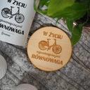 Zestaw dla rowerzysty KUBEK I PODKŁADKA z rowerem Marka Pracownia Brodacza