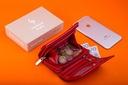 Skórzany portfel damski mały Garbarnia Praska Kod producenta 2GPD-GB-11 czerwony