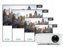 RZUTNIK PROJEKTOR OVERMAX MULTIPIC 2.3 LED HD WIFI Wbudowane głośniki tak