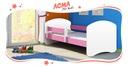 Łóżko dziecięce 140x70 materac ACMA II + stelaż Kod producenta AII14070W