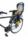 Fotel rowerowy FOTELIK na rower bagażnik pasy 5pkt Kolor dominujący wielokolorowy