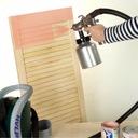 Agregat HVLP do malowania natryskowego DEDRA 600W Pojemność zbiornika 1 l