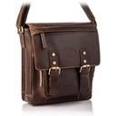 Кожаная сумка мужская плечо, сегодня почтальонша BETLEWSKI доставка товаров из Польши и Allegro на русском