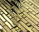 Мозаика стеклянная золотая глянцевая GOLD CRYSTAL