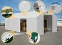 Namiot WINTER 8x10m magazynowy garaż zimowy HALA Producent HALplan