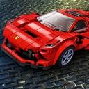 LEGO SPEED CHAMPIONS Ferrari F8 Tributo 76895 Liczba elementów 275