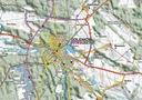 MAPA TURYSTYCZNA PUSZCZA GOLENIOWSKA 1:60000 GPS Autor Eko-map