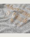 Abercrombie Hollister szara bluzka damska USA M Dekolt okrągły